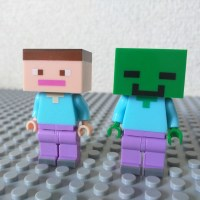Lego Minecraft Knock-Offs