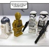 Not the Droids they're looking for...