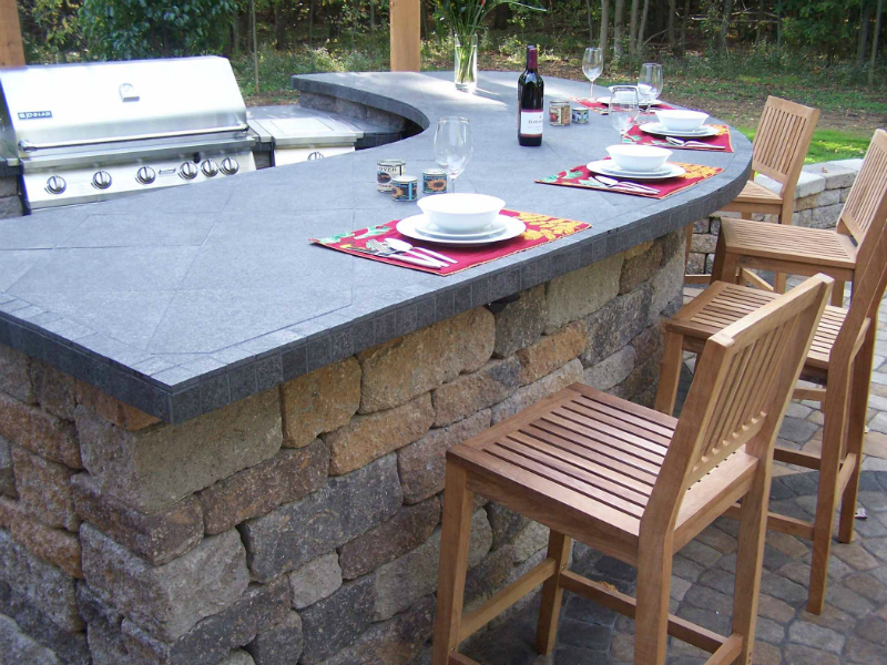 Outdoor Living | The Brickyard on Best Backyard Bars id=57522