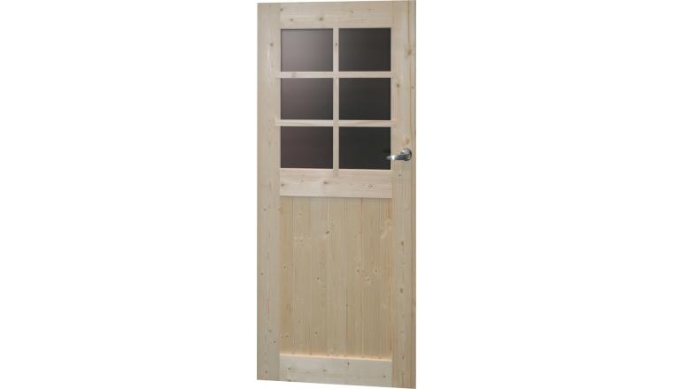 porte de service en bois autoclave solid s8092