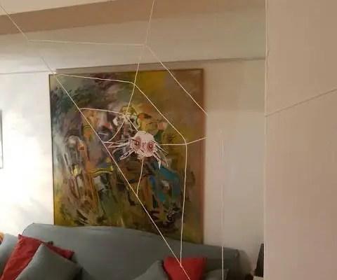 Une araignée d'Halloween