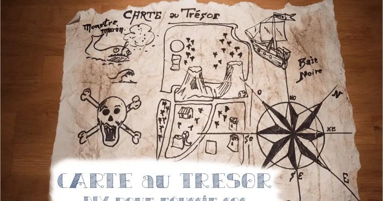 Fausse carte aux trésors