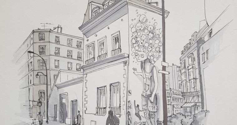 sketch – rue Jean Poulmarch