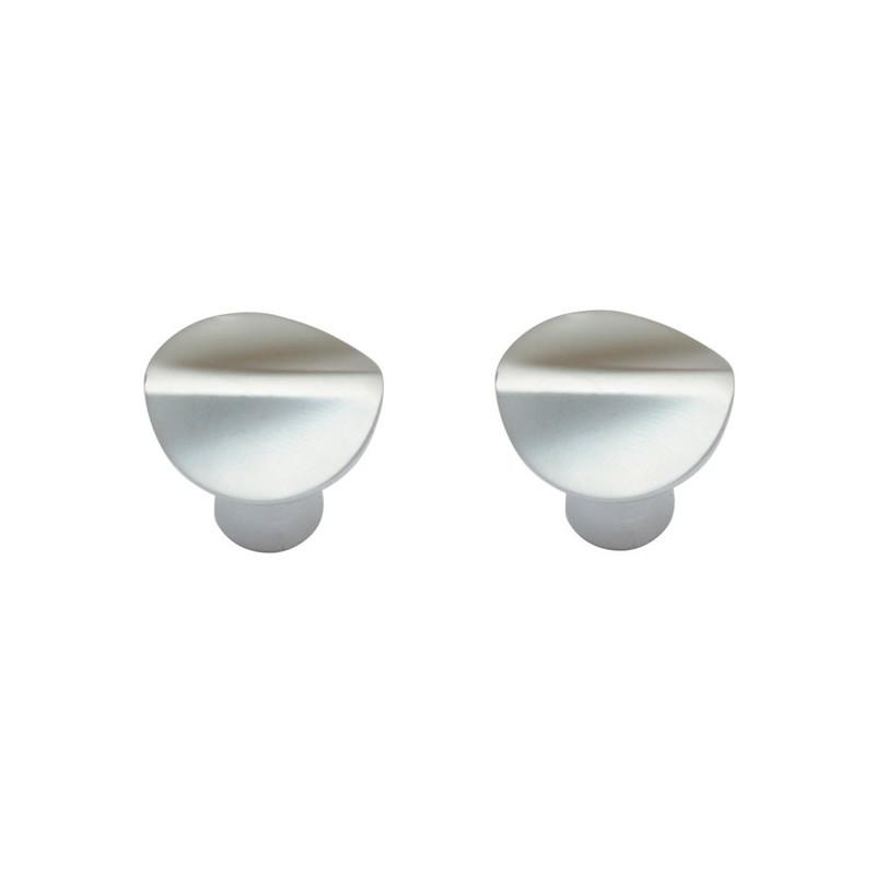 Collezioni pomoli e pomelli linea classica: Pomelli Per Mobili Cassetti Armadio Maniglia In Zama 2 Pz Brico Casa
