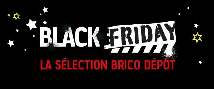 black friday bricolage outillage