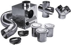 Vmc Simple Double Flux Hygroreglable Distribution Air Chaud Brico Depot