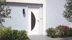porte d entree pvc bois aluminium