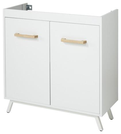 meuble sous lavabo ladoga blanc l
