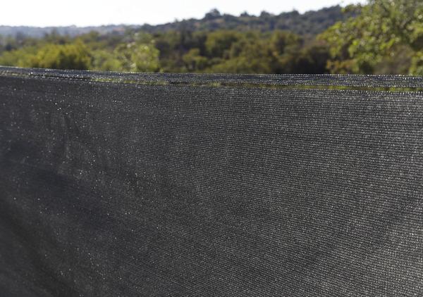 brise vue gris h 1 20 x l 5 m