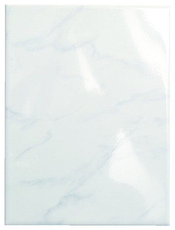 Faience Marbre Carrara Aspect Brillant Pour Salle De Bain 25x33 Cm Brico Depot
