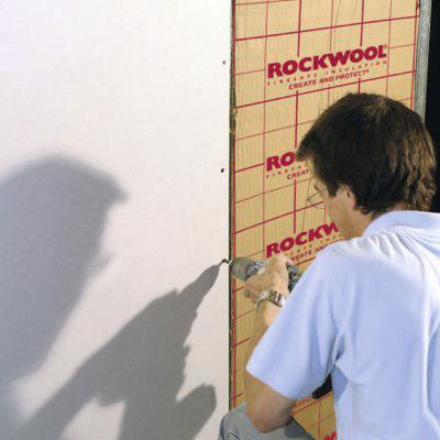 Panneau Laine De Roche Revetue Kraft Rockmur L 135 X L 60 X Ep 4 5 Cm Brico Depot