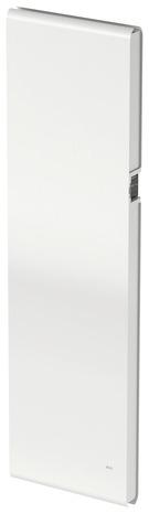 Radiateur Electrique A Inertie Fluide Iriya Blanc 1500 W Vertical Brico Depot
