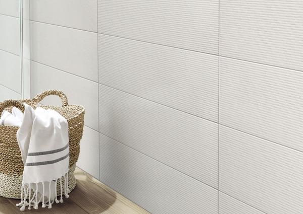 Faience Murale Aspect Pierre Gris Chalky L 60 X L 20 Cm Brico Depot