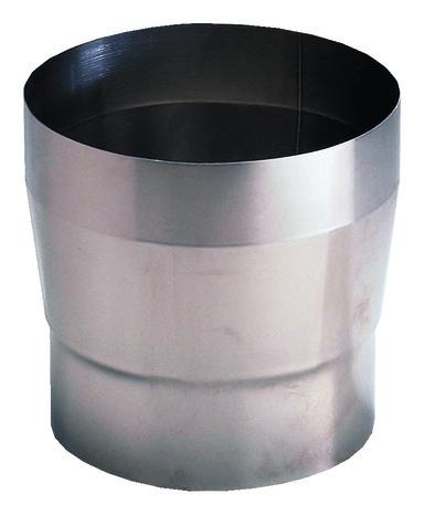 reducteur conique en inox f 180 mm
