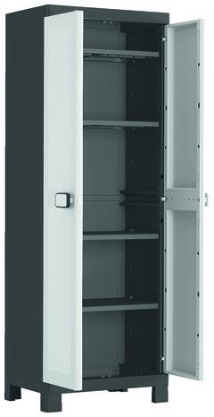 armoire haute 4 tablettes 125 kg max concepto brico depot