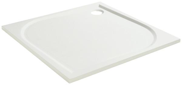 receveur de douche carre extraplat 80 x 80 cm en resine goodhome