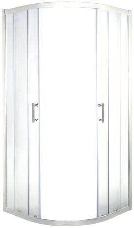 porte de douche angle circulaire 190 x
