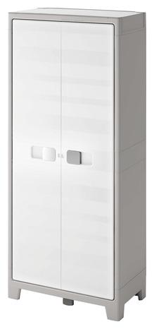 armoire haute resine h 182 x l 65 x p