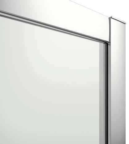 Porte Coulissante 3 Volets Verre Effet Miroir 195 X 82 5 Cm Brico Depot