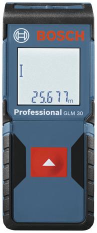 Bosch Bleu Telemetre Laser Glm 30 Brico Depot