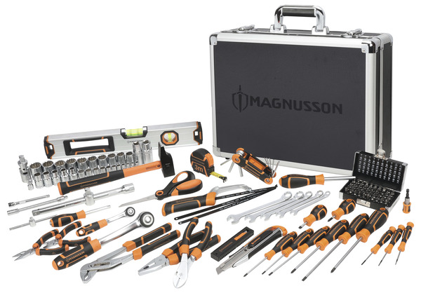 mallette magnusson 119 pieces brico