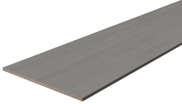 tablette melanine imitation chene gris
