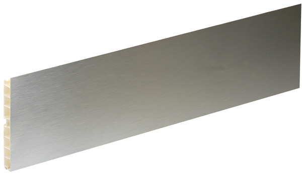 plinthe finition aluminium brosse l