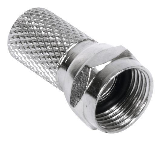Fiche F Pour Cable Coaxial Avec Joint Torique 6 80 Mm Brico Depot