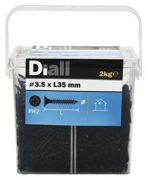 Vis Placo Noir 3 5 X 35 Mm 2 Kg Brico Depot