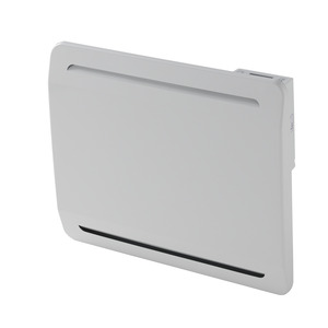 Radiateur Electrique Blanc Ceramique New Design 1500w H 45 X L 70 Cm Brico Depot