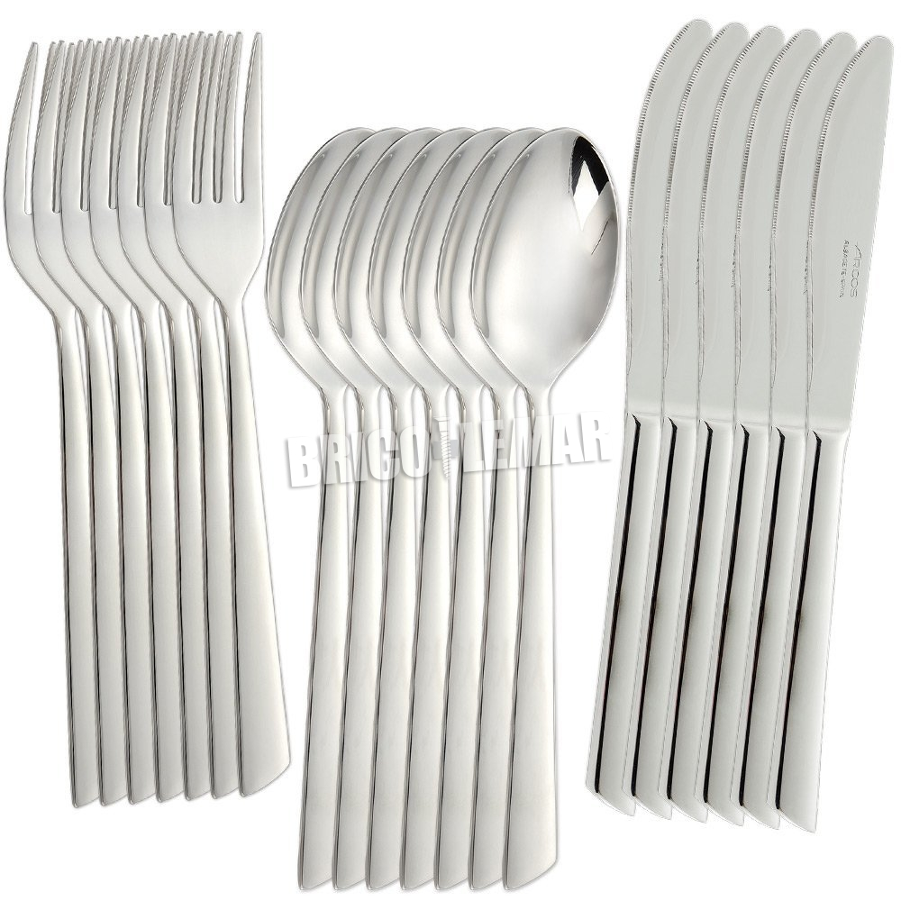 set of 6 forks arcos tuscany series forks spoons knives