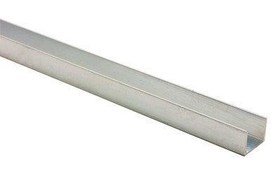 profil en u pvc blanc l 10 x ep 12 mm l 260 cm