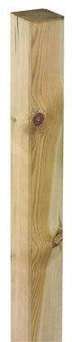 poteau carre pin classe 3 9 x 9 cm haut 240 cm