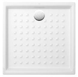 receveur de douche ceramique blanc l 90 x h 6 x p 90 cm saval villeroy et boch