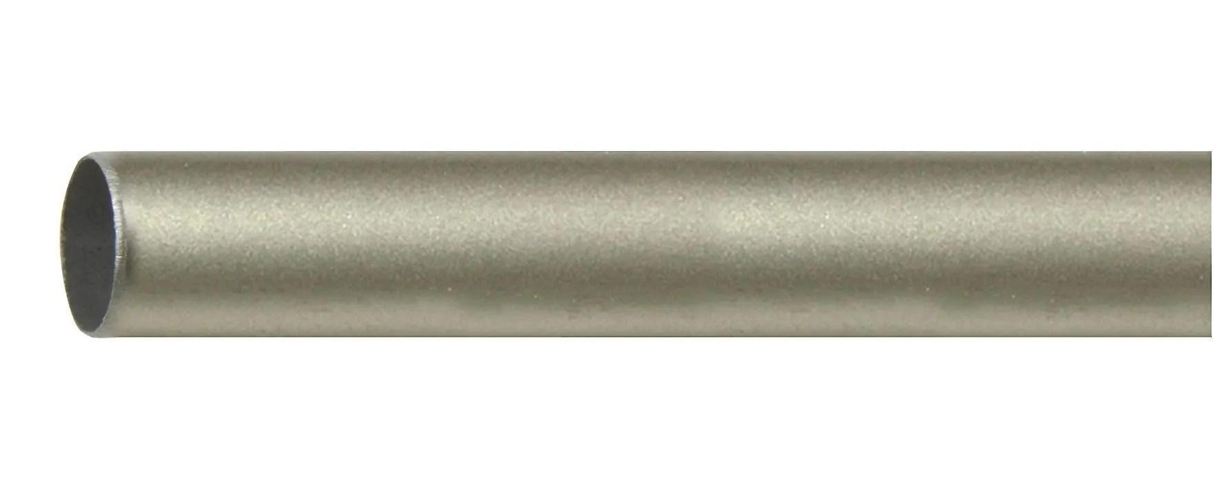 Nuova algis adesivo nero tondo rispettare 1 metro da pavimento 38x38 cm. Bastone Per Tende O 20 Mm 160 Cm Nichel Bricoman