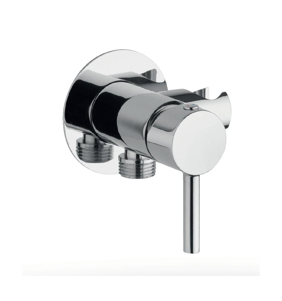 mitigeur mecanique cox paini a encastrer avec support douchette integre