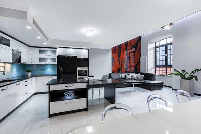 In commercio trovi paraventi di varie dimensioni, materiali e design; Arredare Open Space La Cucina E Il Soggiorno Bricoportale