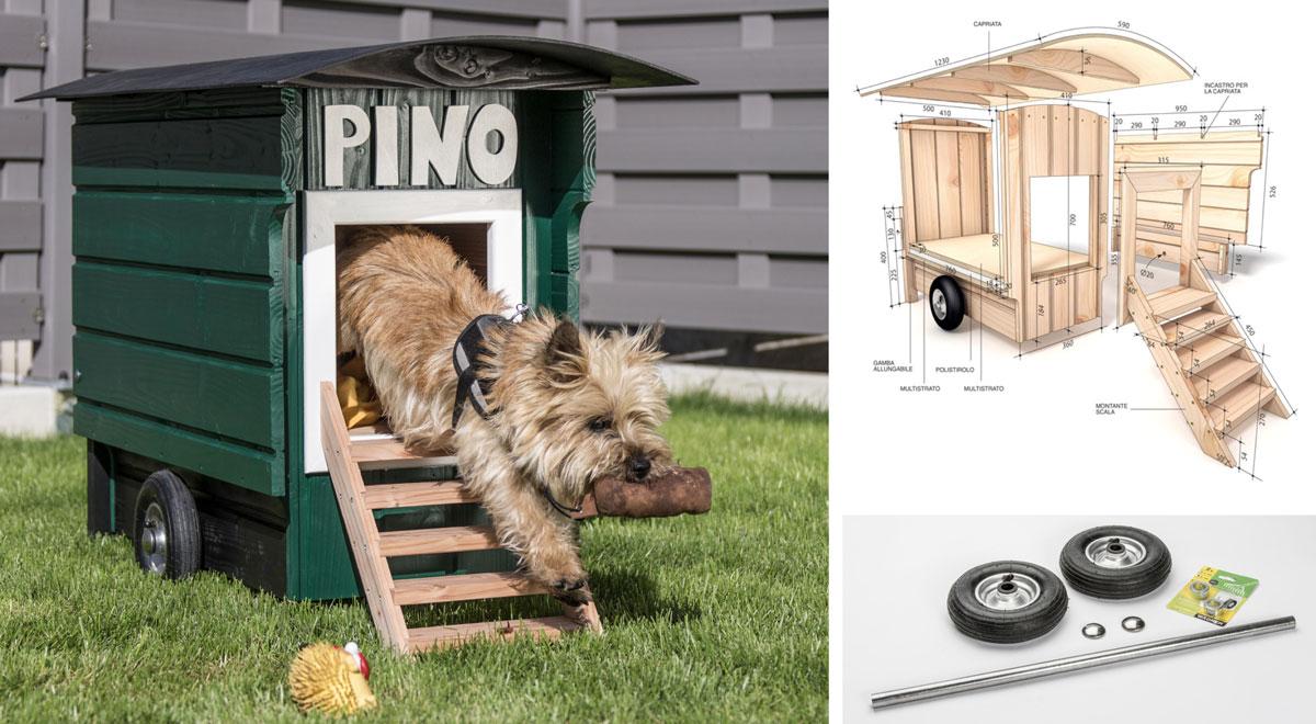 Cuccia Per Cani Fai Da Te Con Ruote Costruiscila E