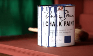 aplicando chalk paint