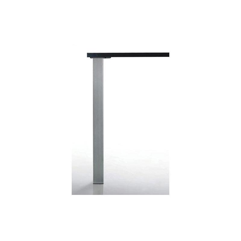 pied de table carre quadra 60 x 60 mm