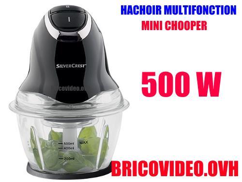 silvercrest mini chopper 500w lidl smzc