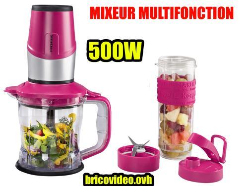 mixeur multifonction lidl silvercrest