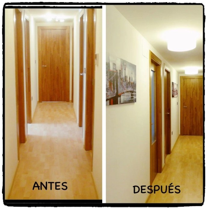 pasillo antes-despues