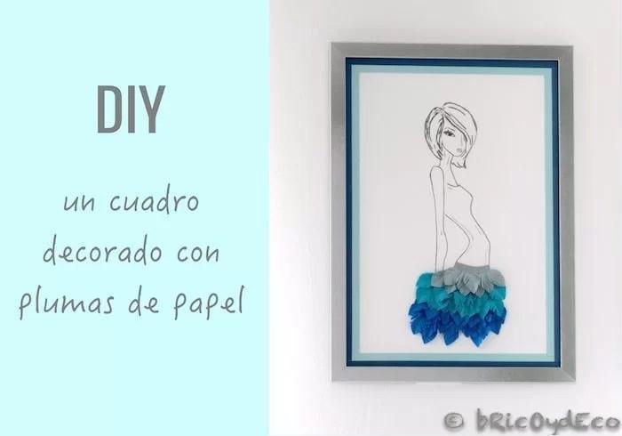 plumas-de-papel-cuadro-personalizado