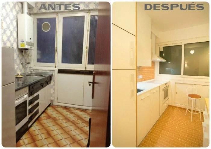 Reformar la cocina antes y despu s de una renovaci n lowcost - Casas reformadas antes y despues ...