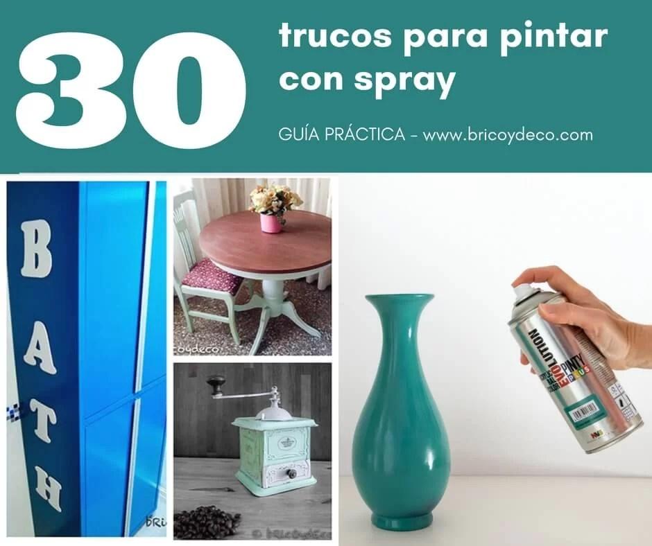 30 trucos para pintar con spray 100 efectivos para un - Se puede pintar el aluminio ...