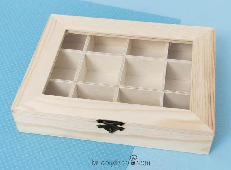 C mo decorar una caja de madera sin tratar - Cajitas de madera para decorar ...