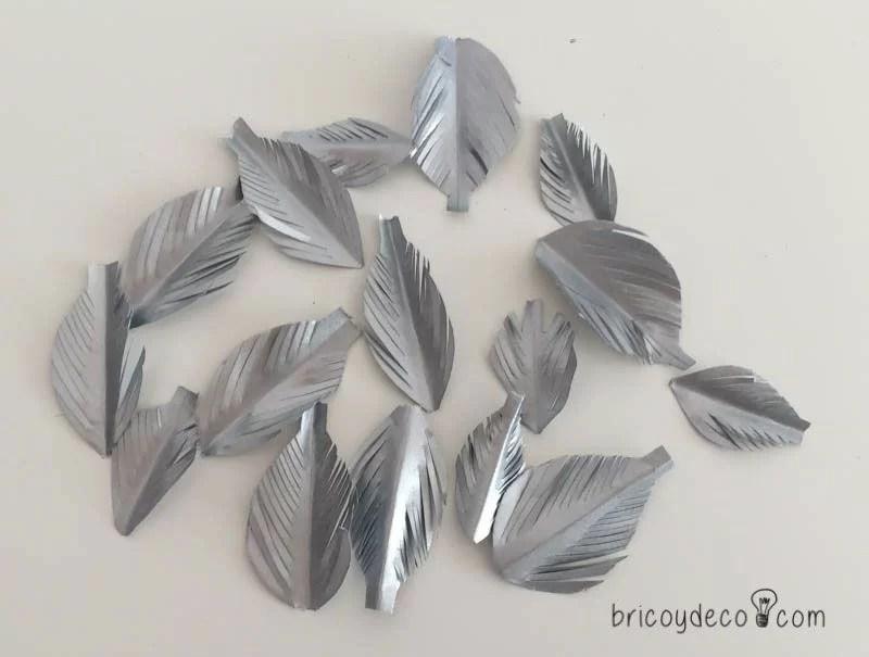 plumas de papel