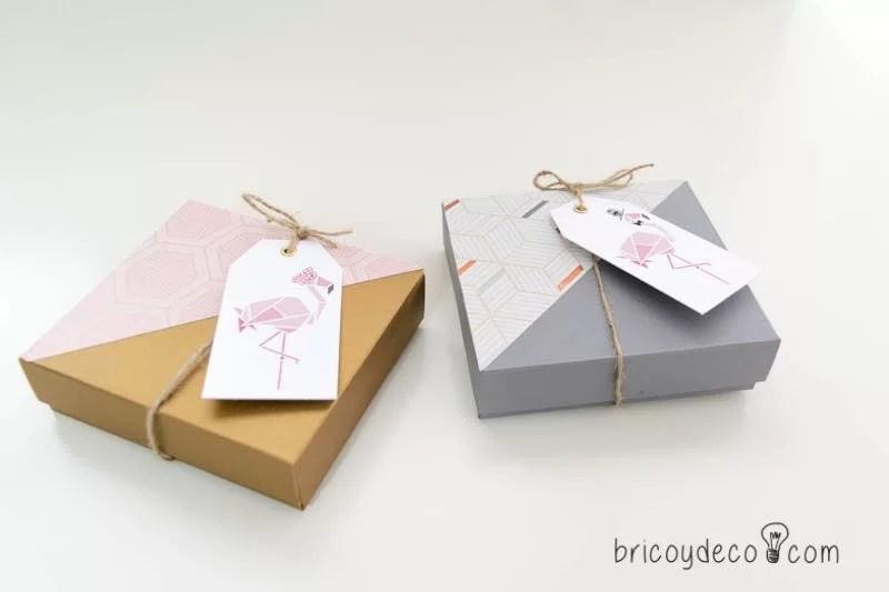 presentar regalos DIY para invitados