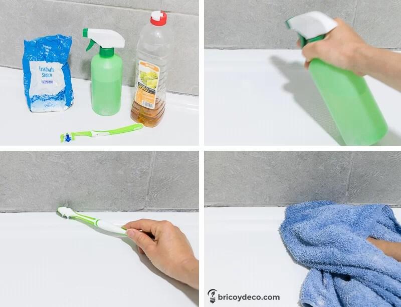 eliminar moho del baño paso a paso